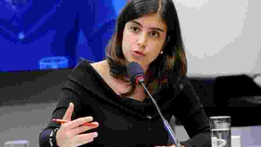 """Tábata Amaral (PDT-SP): deputada foi a mais """"indisciplinada"""" do PDT até agora - Agência Câmara"""