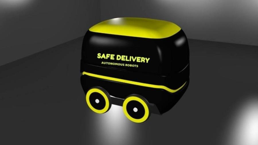 Robô para entrega de remédios e comida é feito com placas de Arduíno e Raspberry para processar os algoritmos de controle dos motores e de percepção e inteligência - 3DSoft