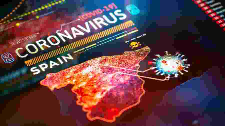 Espanha foi um dos países mais atingidos pela pandemia - Getty Images