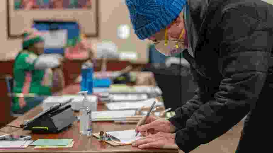 Eleição nos EUA, eleições americanas, voto, votantes, Estados Unidos - Getty Images