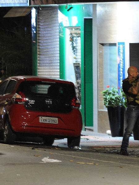 Assalto a dois bancos no centro de Criciúma (SC) ocorreu na madrugada de terça - CAIO MARCELLO/AGIF/ESTADÃO CONTEÚDO