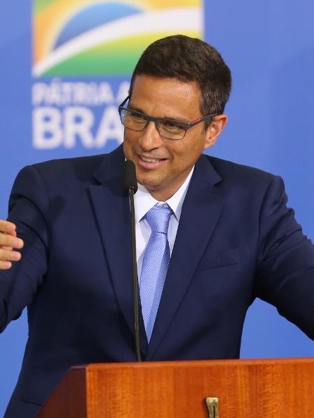 Presidente do Banco Central, Roberto Campos Neto, discursa durante cerimonia de sanção da Lei da Autonomia do Banco Central - Fabio Rodrigues Pozzebom/Agência Brasil