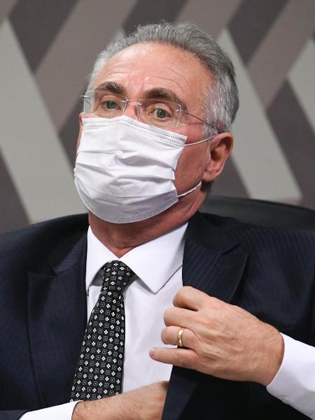 """""""A CPI [da Covid] não vai se guiar por intimidação, provocação"""", disse Calheiros, em resposta à Onyx - Jefferson Rudy/Agência Senado"""