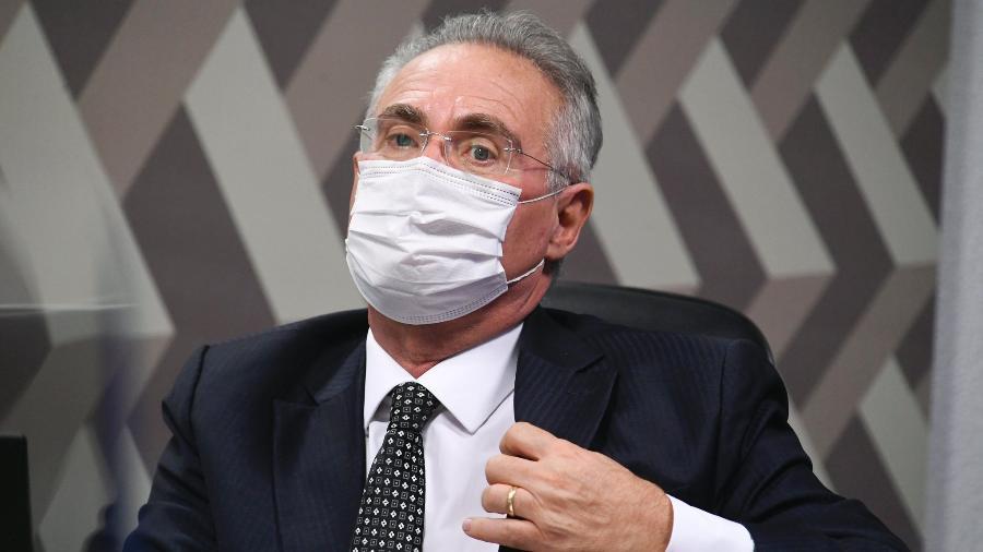 """""""Nós estamos numa situação difícil porque tem um louco na presidência da República"""", disse Renan Calheiros - Jefferson Rudy/Agência Senado"""