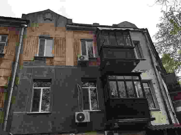 O apartamento que James comprou em Odessa - BBC - BBC