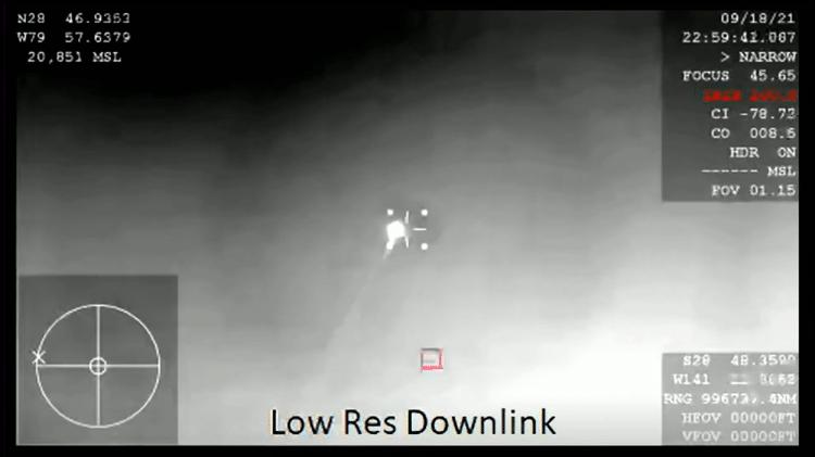 Primeira imagem da reentrada da cápsula Dragon, da SpaceX, à atmosfera terreste - Reprodução - Reprodução