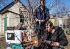 Em cidade ucraniana, experimentos de uma dupla conquistam um nicho online (Foto: Brendan Hoffman/The New York Times)