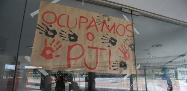 Alunos ocupam a Etec Parque da Juventude, na zona Norte de São Paulo - Leonardo Benassatto/Futura Press/Estadão Conteúdo