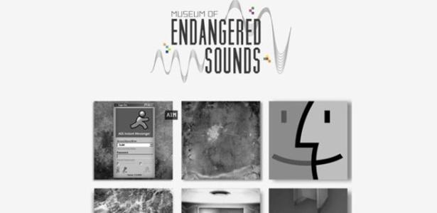 O site do museu já tem sons de aparelhos antigos