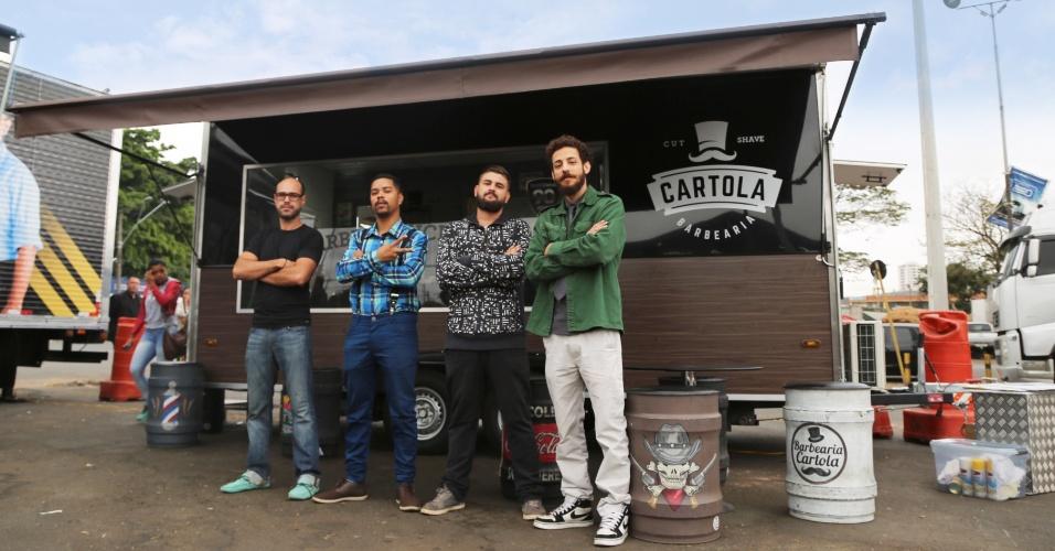 Barber truck da Barbearia Cartola quer virar franquia