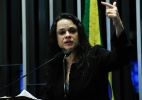 Janaina Paschoal dá entrevistas para livro sobre impeachment de Dilma  (Foto: Geraldo Magela/Agência Senado)