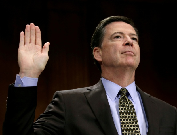 O ex-diretor do FBI, James Comey