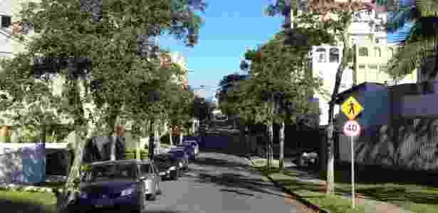 As ruas do Bacacheri, bairro onde Sergio Moro vive com a família, têm pouco do movimento das imediações do prédio da Justiça Federal, no Ahú, onde ele despacha - Janaina Garcia/UOL - Janaina Garcia/UOL