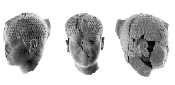 Busto de um faraó egípcio desconhecido com 4.300 anos gera série de dúvidas - Divulgação/Gaby Laron/Hebrew University/Selz Foundation Hazor Excavations