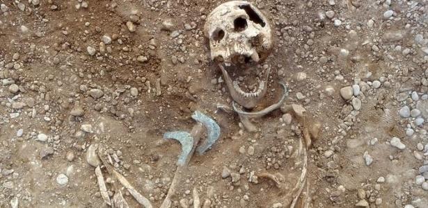 Esqueleto de mulher encontrado no vale de Lechtal