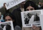 O escândalo dos refugiados na ilha grega de Lesbos - ARIS MESSINIS/AFP