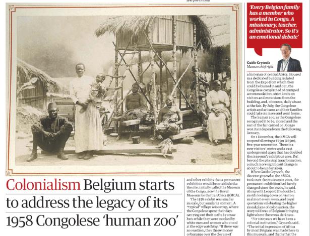"""Reportagem do jornal """"The Guardian"""" conta como eram os zoológicos humanos"""