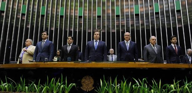 Políticos como ACM Neto, Rodrigo Maia e Geraldo Alckmin participaram de homenagem póstuma ao ex-deputado Luís Eduardo Magalhães - Luis Macedo/Agência Camara