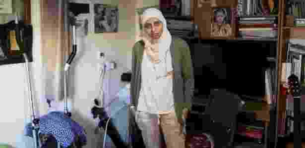 26.set.2017 - A poetisa árabe-israelense Dareen Tatour, acusada de incitação ao terrorismo - REUTERS/Ammar Awad