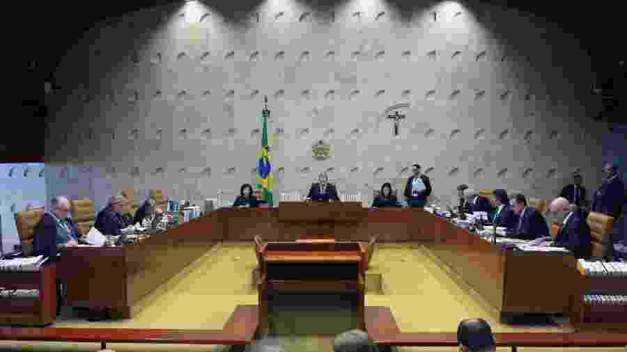 Plenário do Supremo Tribunal Federal (STF) - Carlos Moura/STF