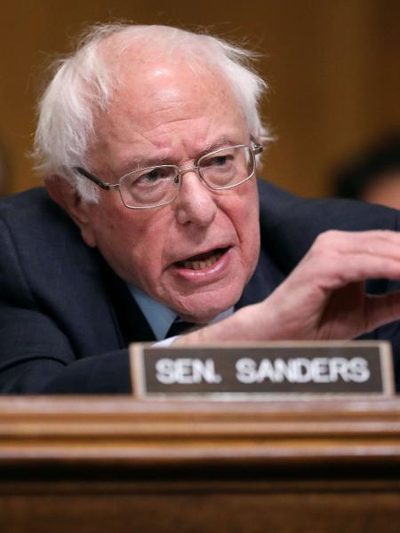 Senador Bernie Sanders - Getty Images/AFP