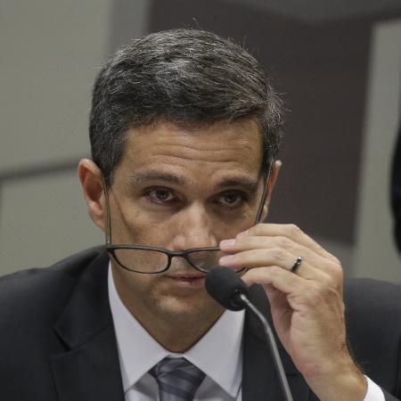 """""""Esse fenômeno não é apenas brasileiro, e isso nos permite cortar juros"""", acrescentou Roberto Campos Neto - Dida Sampaio/Estadão Conteúdo"""