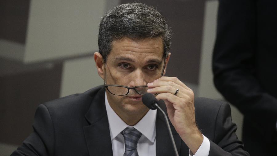 O economista Roberto Campos Neto assumiu a presidência do Banco Central no lugar de Ilan Goldfajn - Dida Sampaio/Estadão Conteúdo