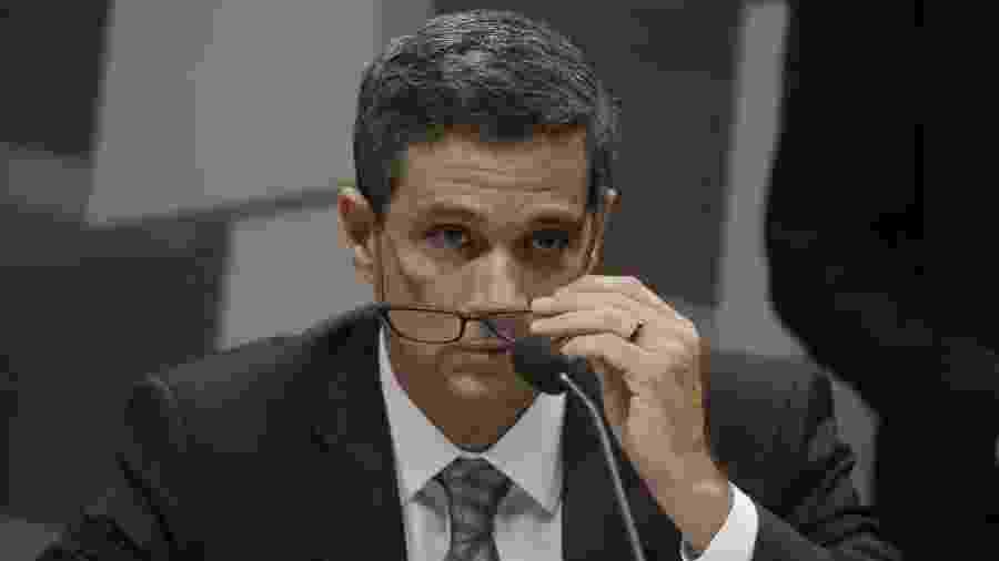 Em live, presidente do BC afirmou também que a projeção de queda no PIB de 6,4% em 2020 no país é pessimista - Dida Sampaio/Estadão Conteúdo