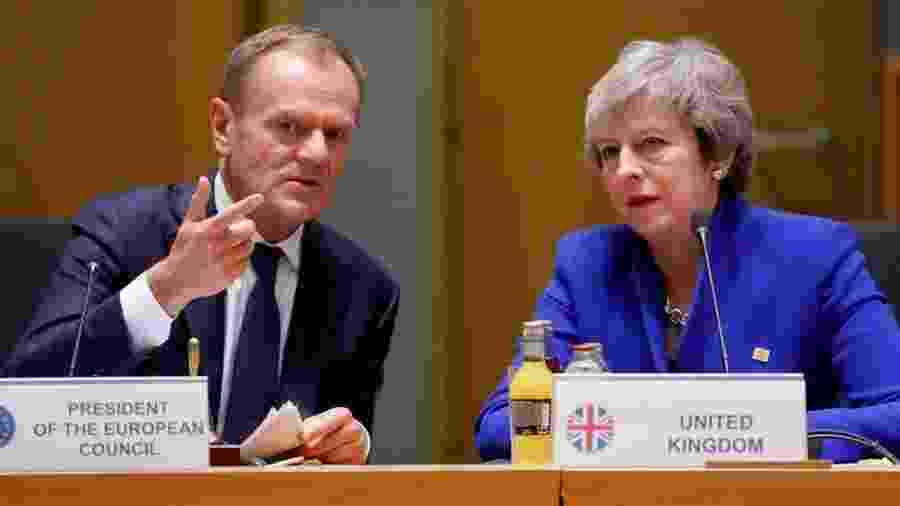 O presidente do Conselho Europeu, Donald Tusk, deve propor uma extensão de 12 meses para o Brexit, com a opção de abreviar este prazo - Reuters