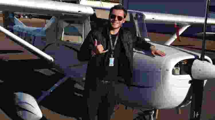 Magnus Boeno Padilha, 32, piloto que também morreu no acidente - Reprodução/FaceboobkWest Wings Escola de Avião - Reprodução/FaceboobkWest Wings Escola de Avião