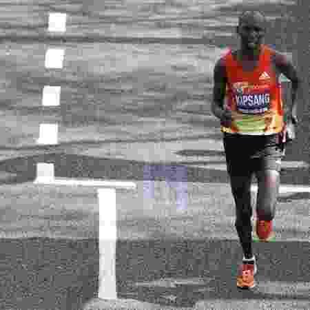 Maratonista queniano Wilson Kipsang - Andrew Boyers