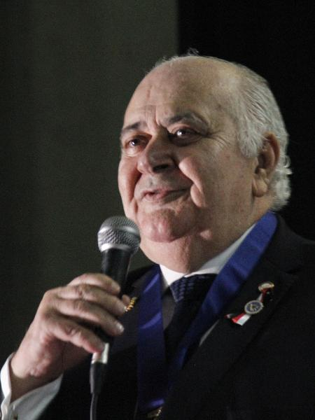 O grão-mestre maçom do GOSP (Grande Oriente de São Paulo), o advogado Raimundo Hermes Barbosa - Divulgação/GOSP