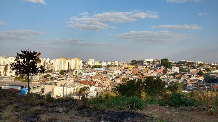 Parque Bristol, na zona sul de São Paulo, onde morava e foi morto Rogério Ferreira da Silva Júnior, 19, durante abordagem policial - Marcelo Oliveira/UOL - Marcelo Oliveira/UOL