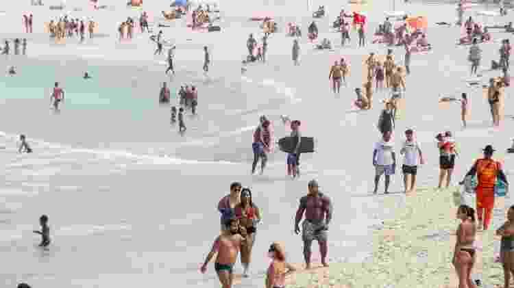 Praia do Leme - Bruno Martins/Futura Press/Estadão Conteúdo - Bruno Martins/Futura Press/Estadão Conteúdo