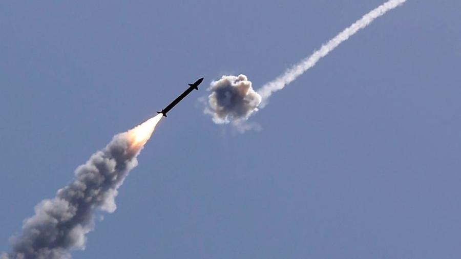 Os ataques balísticos das últimas horas revelaram mais uma vez o poder da Cúpula de Ferro de Israel - JACK GUEZ / GETTY