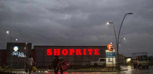 O Delta Mall, em Warri, na Nigéria, o primeiro nesta região do país africano