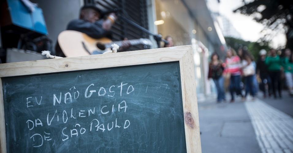 """""""Não gosto de violência. A justiça precisa ser mais firme. Não podemos passar a mão na cabeça de quem faz coisas erradas, às vezes vejo isso em São Paulo. Tem que mudar um pouco essa nossa justiça""""."""