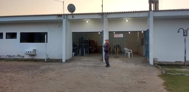 Penitenciária onde ocorreu fuga em massa no RN (Penitenciária Estadual de Parnamirim)
