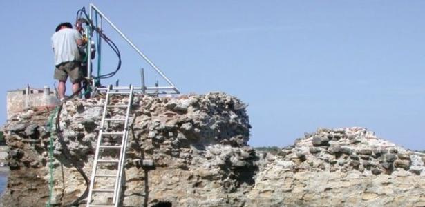 Composição química de concreto romano há tempos intrigava cientistas