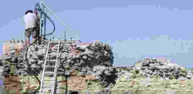 Composição química de concreto romano há tempos intrigava cientistas - JP OLESON