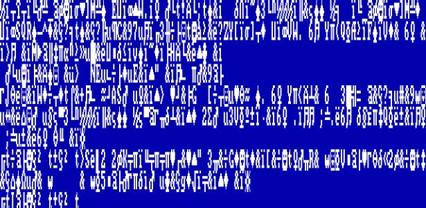 Tela Azul - Windows 1 - Reprodução - Reprodução