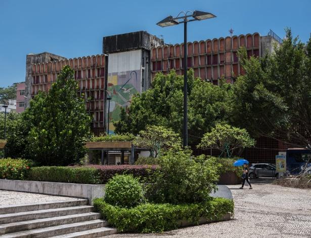 O hotel Estoril foi construído em 1962, em Macau