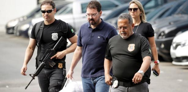 23.jan.2018 - Ex-secretário municipal de Obras Alexandre Pinto volta a ser preso pela Lava Jato