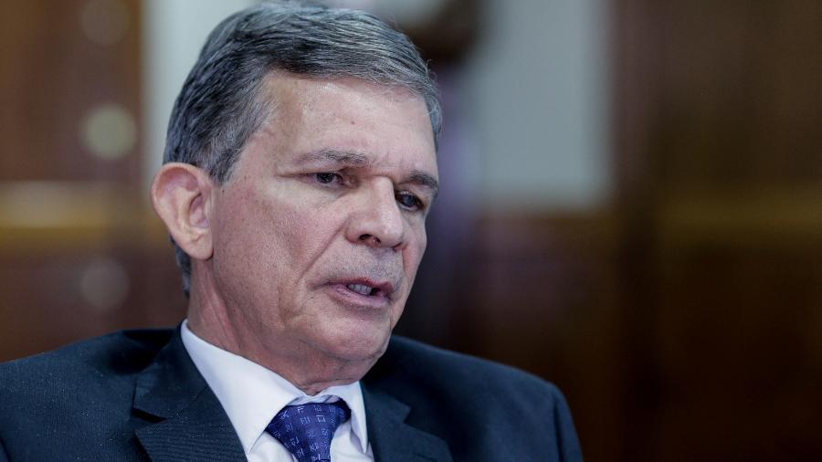 O general Joaquim Silva e Luna é o novo presidente da Petrobras, indicado por Bolsonaro - Kleyton Amorim/UOL