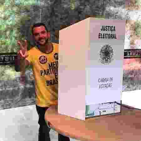 Carlos Jordy, deputado federal eleito pelo PSL-RJ - Reprodução/Facebook