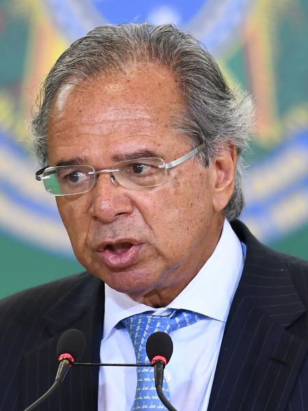 Paulo Guedes, ministro da Economia - Evaristo Sá/AFP