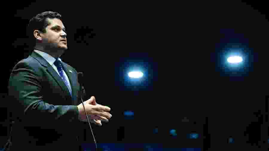 O presidente do Senado, Davi Alcolumbre (DEM-AP), disse que a medida não faria bem para o Brasil - Marcos Oliveira - 28.abr.2016/Agência Senado