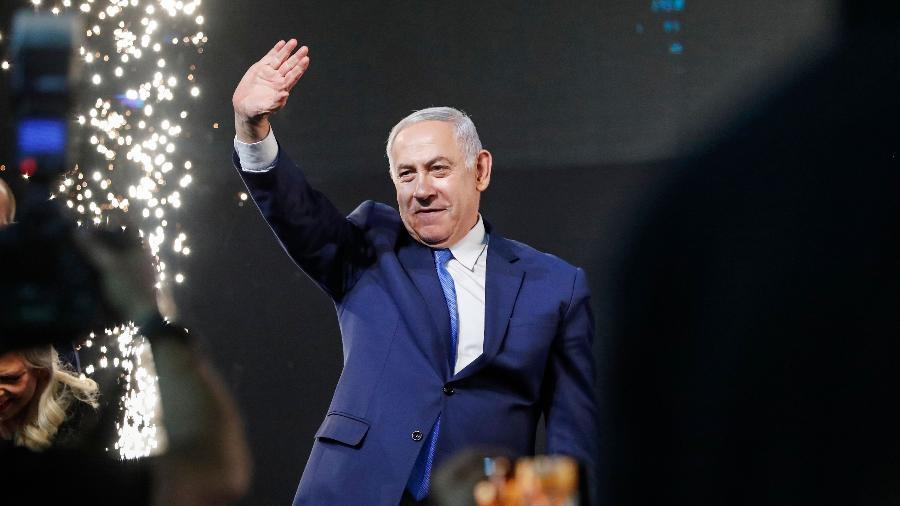 O primeiro-ministro de Israel, Benjamin Netanyahu - Thomas Coex/AFP
