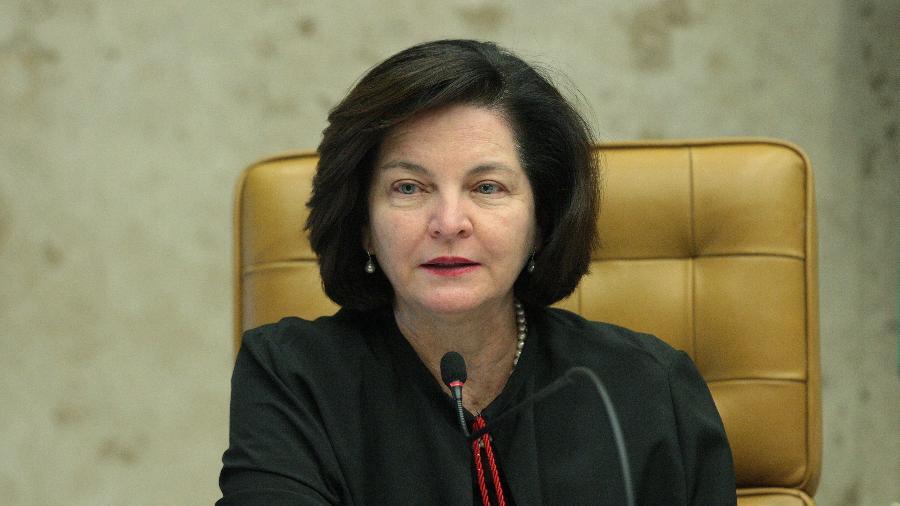 A PGR, Raquel Dodge, em sessão solene manifesto da sociedade civil em apoio ao STF - Carlos Moura - 3.abr.19/STF
