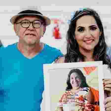 Pai e filha morreram em desabamento de prédio em Fortaleza - Reprodução Facebook